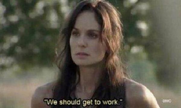 Walking Dead - Work