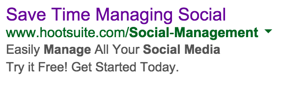 HootSuite Ad