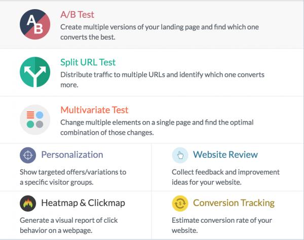 visual website optimizer campaign