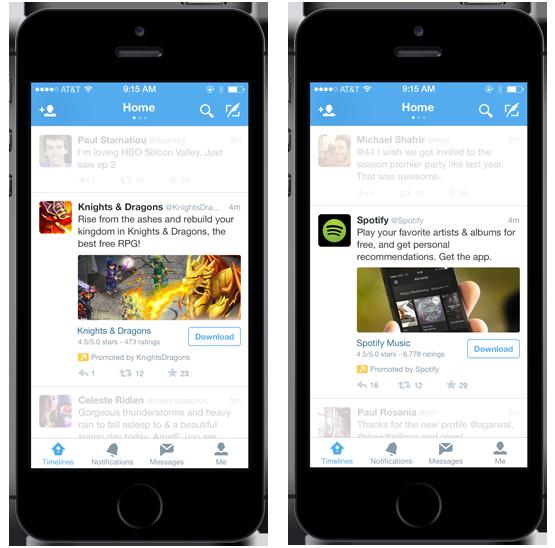 app twitter ads