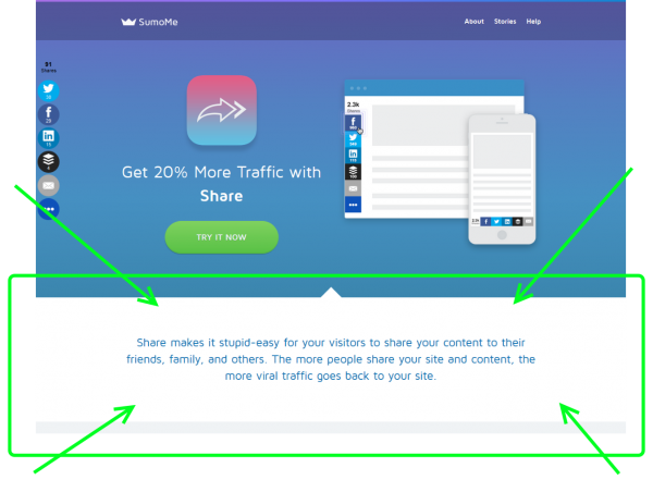 landing page copy follow-up-sumome
