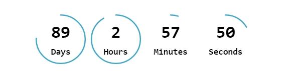 countdown in popup