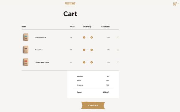 converting shopping carts