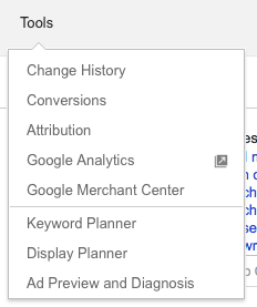 keyword Google Ads planner