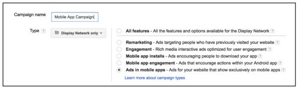 mobile app targeting