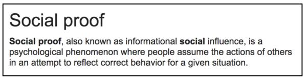 social proof cta