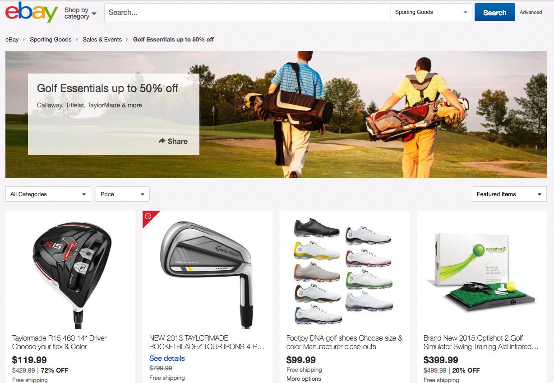 ebay golf