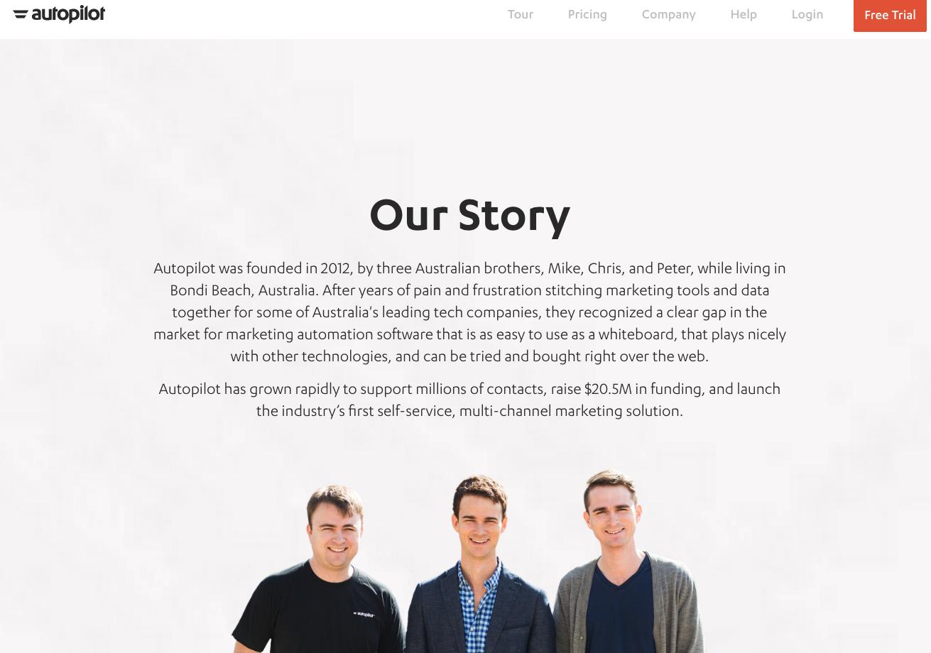 autopilot our story