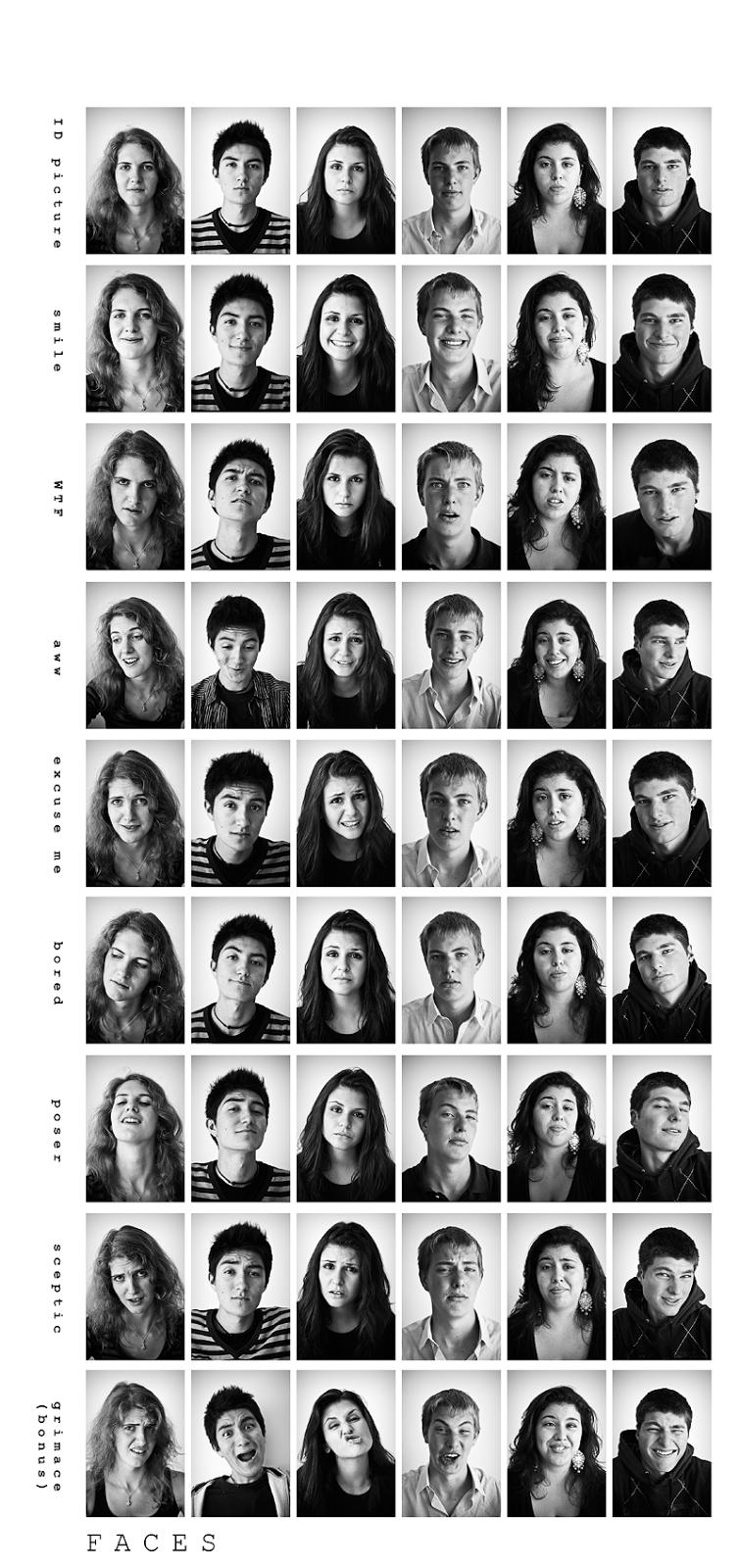 experiment facial expression