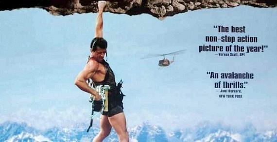 Cliffhanger Starring Sylvester Stallone 570x293