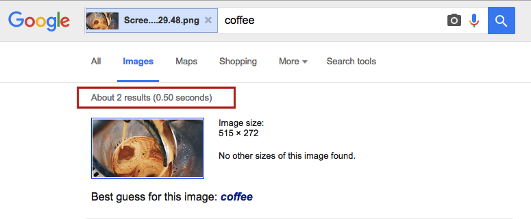 Pact coffee serp results