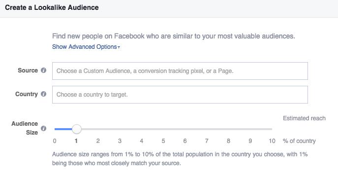 audiences on Facebook targeting