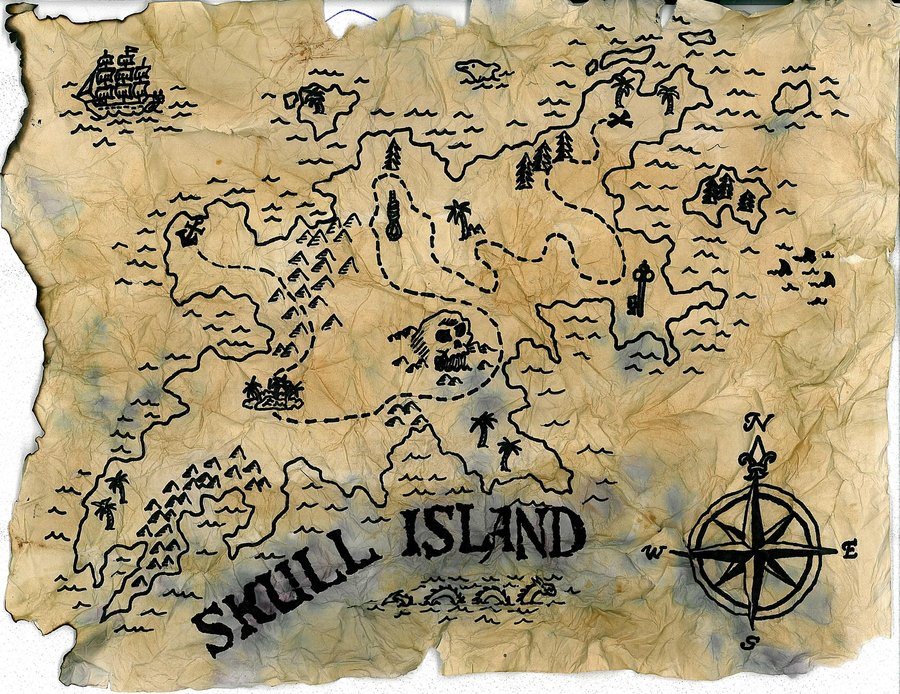 copywriting for landing page skull island map