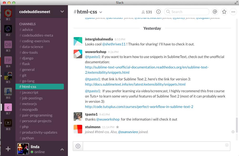 content promotion slack coders share