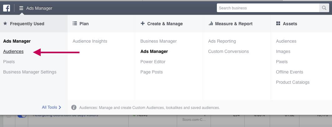 Facebook audiences 1
