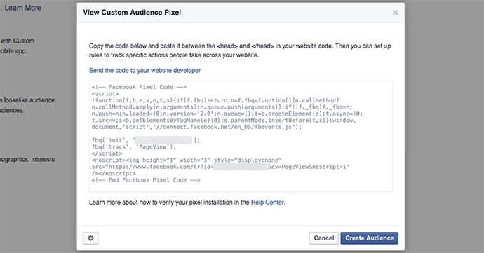 facebook website custom audiences 7