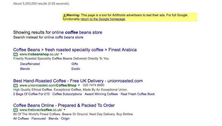 isearchfrom results page