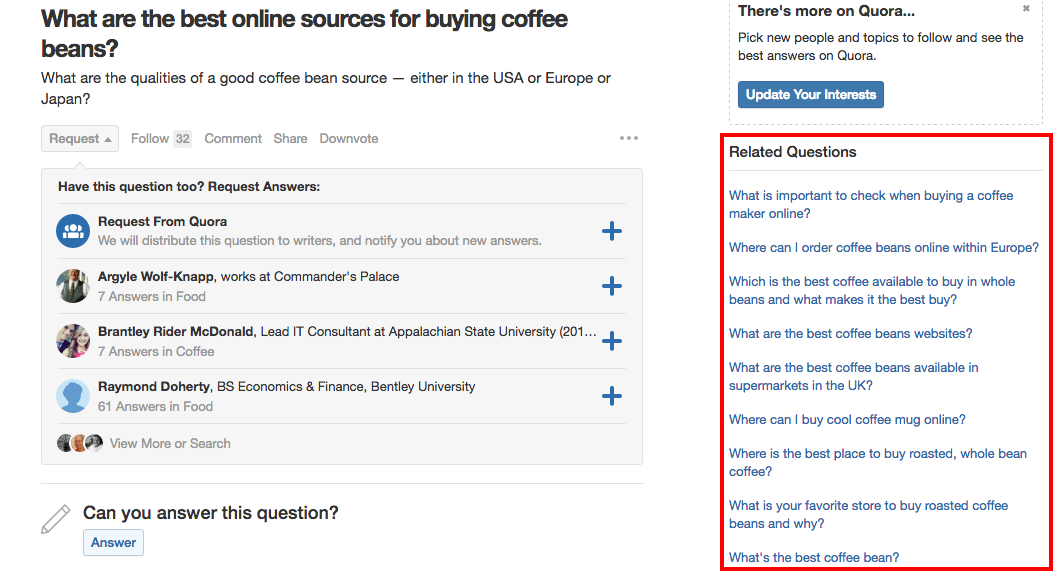 quora related questions