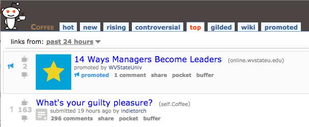 reddit results