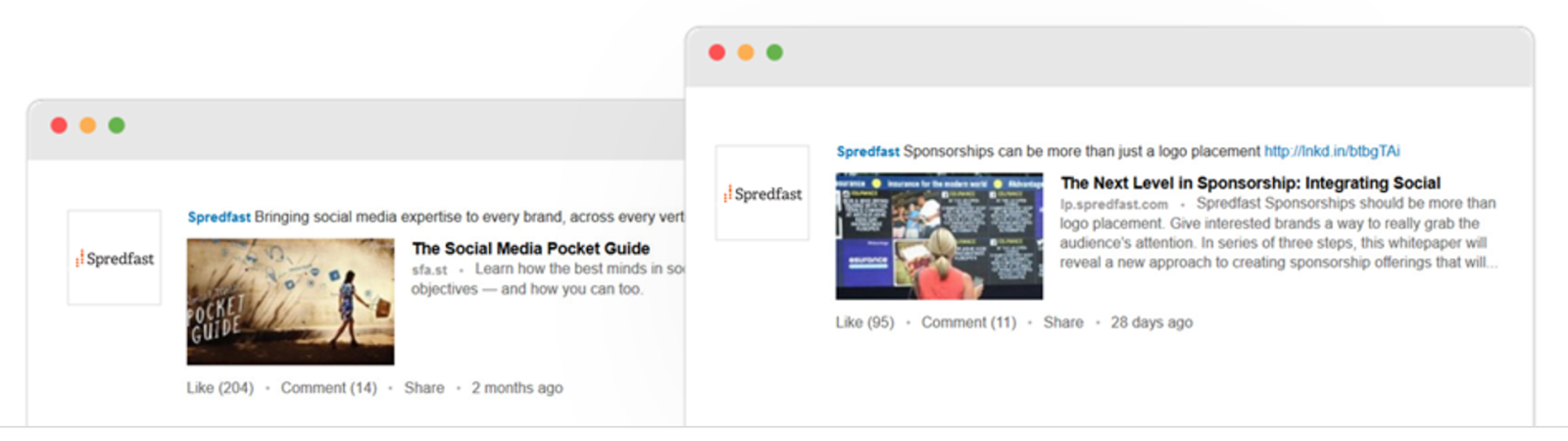 Spredfast found success with a LinkedIn Sponsored Content Campaign