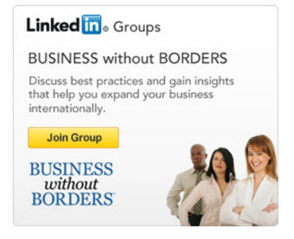 LinkedIn Join-Group Ads