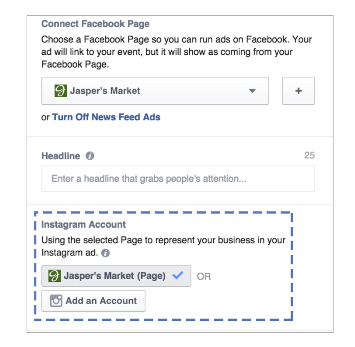 Run Instagram Ads in Facebook Ads Manager