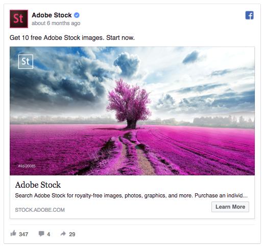 Facebook ad level