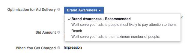 You Can Optimize Facebook Ads for Getting More Brand Awareness
