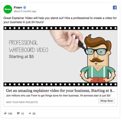 fiverr ad example