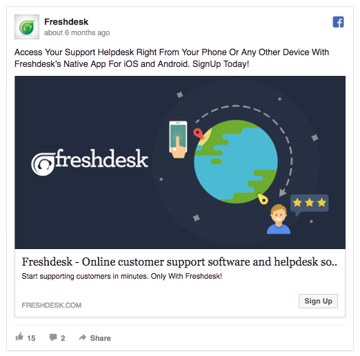 freshdesk ad example