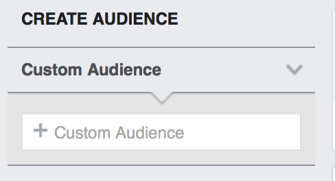 Step 2: Select a Custom Audience in Audience Insights tool