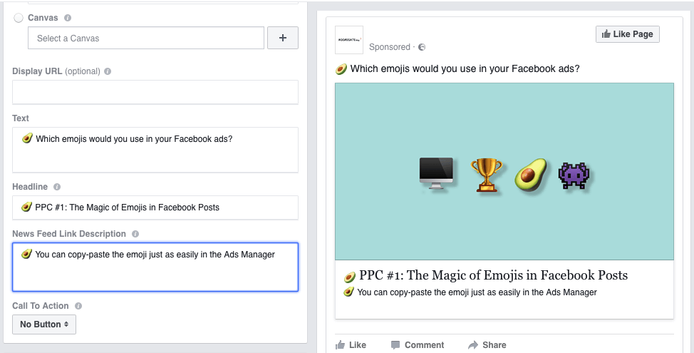 Get creative with emojis