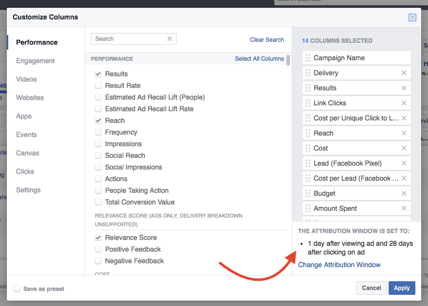 Get more data out of your Facebook ad reports