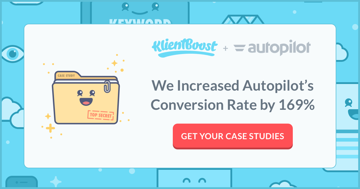 Here's our Facebook ad for the AutoPilot case study