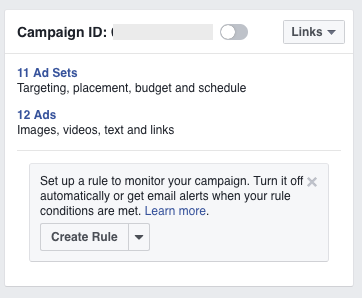 Set up automated Facebook Ad Rules to be in control