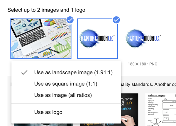 You may be required to crop an image to meet requirements