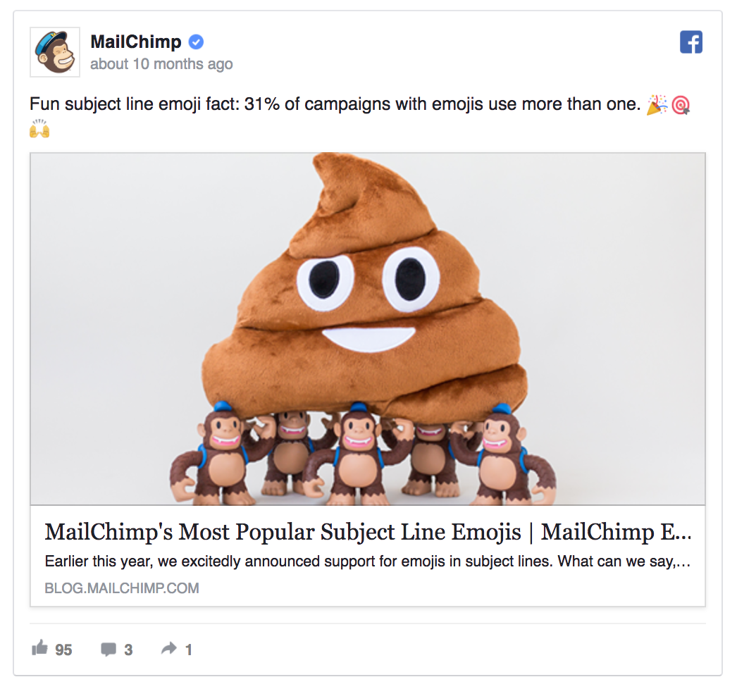 MailChimp's ad is crazy, but it works!