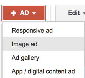 Decide what type of ad you would like to run