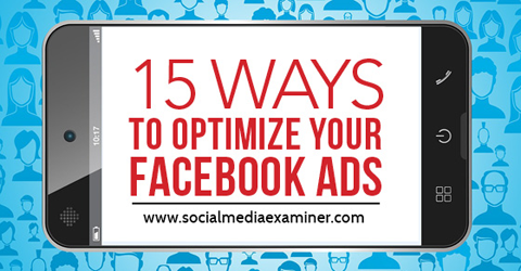 Learn to optimize ads for success