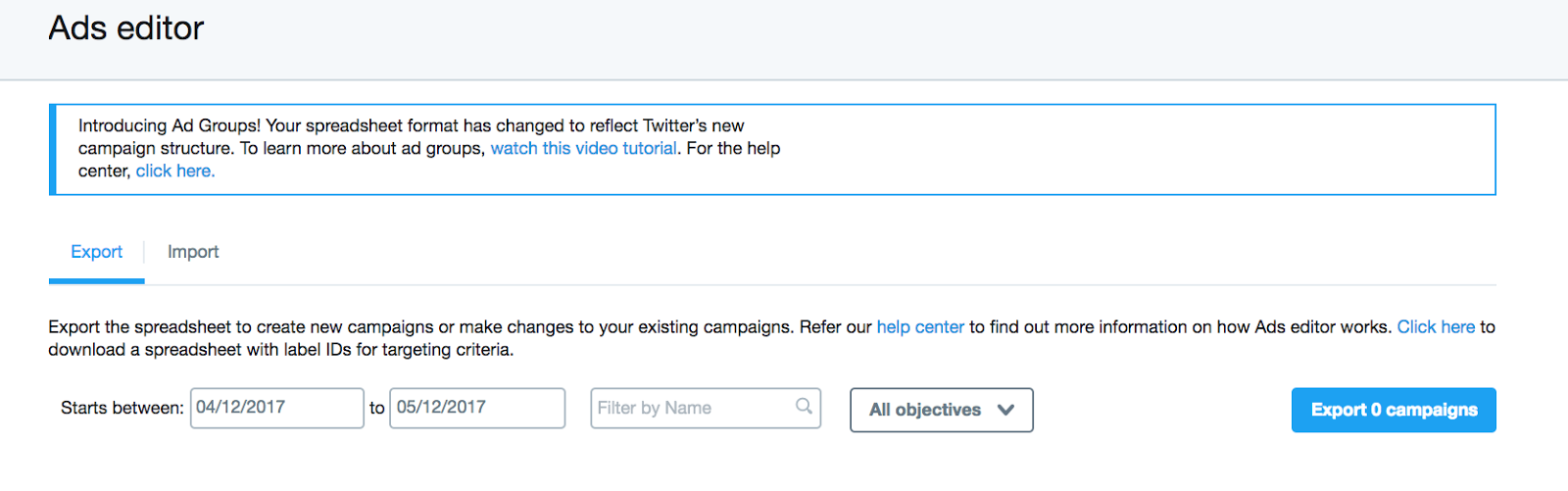 Twitter recently introduced a new Ad Groups format.