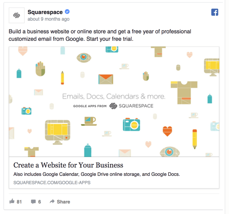 Squarespace offers additional perks.