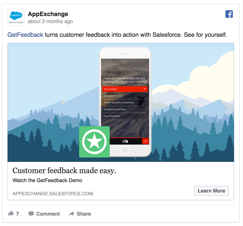 AppExchange offers a free product demo.