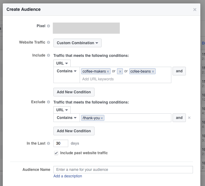 You can also exclude the converters from your Facebook marketing funnel.