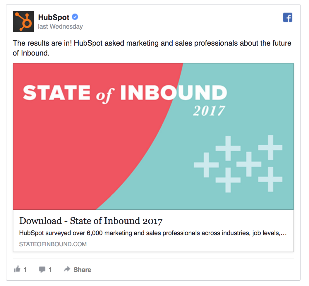 HubSpot is promoting gated content.