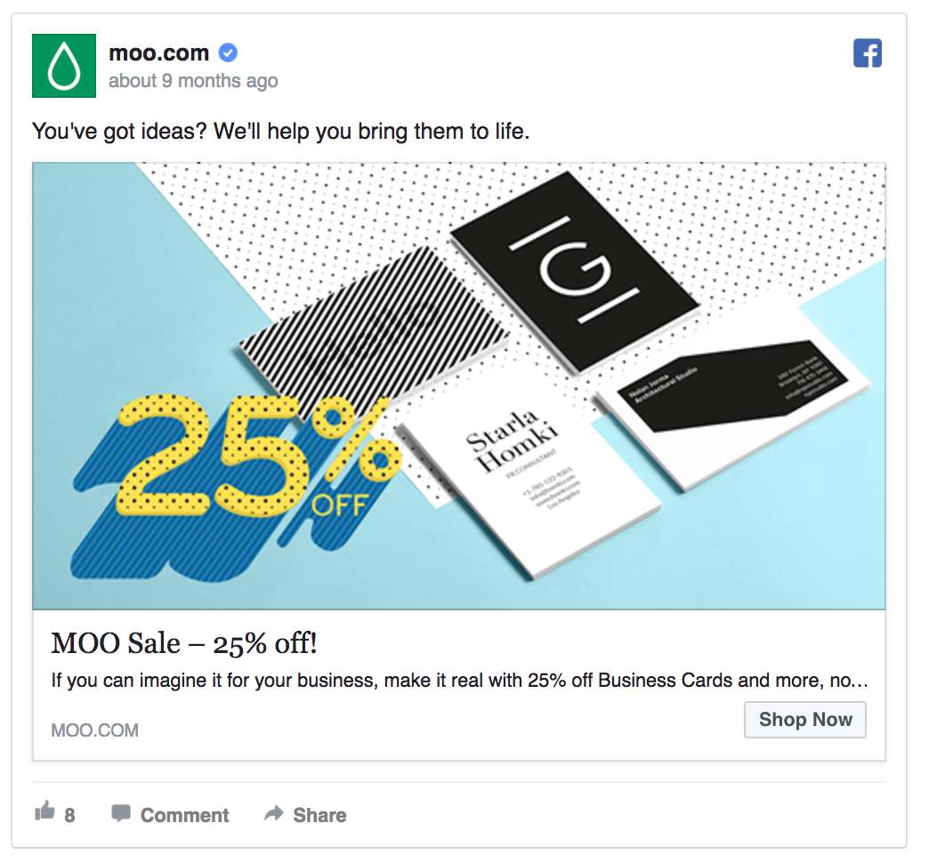MOO's offering a small discount.