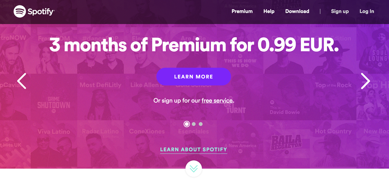 Spotify offers a big discount.