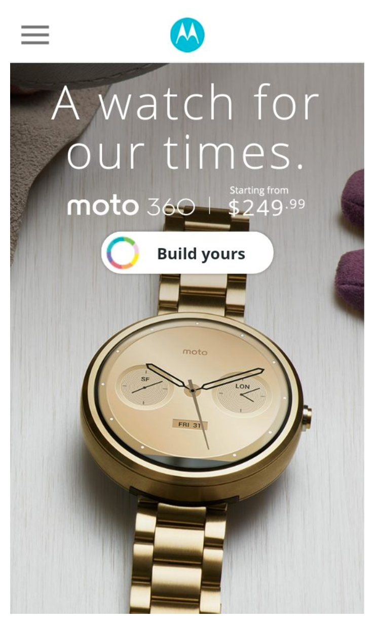 I don't know about you, but I want that watch.