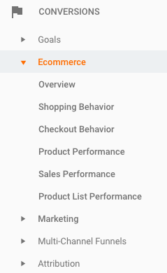 Enhanced Ecommerce gives you many new reports and features.