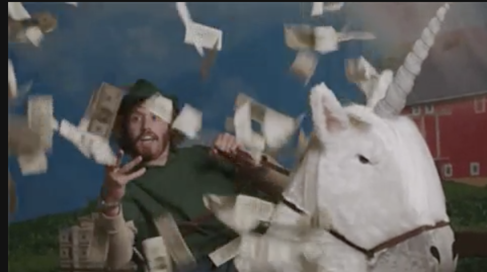 More money means you can spend like Erlich Bachman here.
