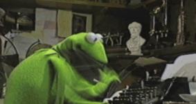 Kermit's got the right idea.